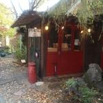 カゲツドウ パンヤ - 可愛らしい店舗です。