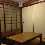 宮戸川 - 2階お座敷(手前)