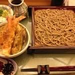 四季の寿司 立身 - 天丼、ざるそば