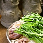 韓国家庭料理 済州 - スンデ鍋は韓国で人気の鍋料理です。つくばでは当店だけの珍しいメニューです。
