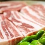 韓国家庭料理 済州 - ◆サムギョプサル◆済州島名物だからこそ、こだわりたい!精肉業者にも驚かれる分厚さです。