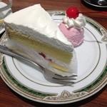 ジャーニィ - ショートケーキのアップ