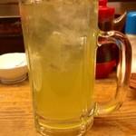 だるま - 緑茶割り