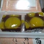 喜田家 - 料理写真:蒸し栗ようかん