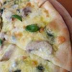 バッカナーレ - パンチェッタのミックスピザ