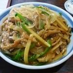 楡林 - 料理写真:オロチョン丼