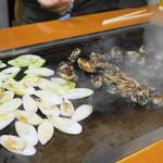 大木屋 - 2013.11 牡蠣は一度だけひっくり返します