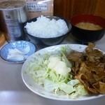 まんぷく食堂 - 焼肉定食
