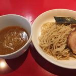 麺屋 武吉 - つけ麺並盛りです。2013-08-08訪問時。