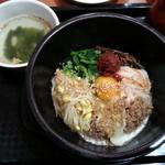オモニのひと味 - 石焼きビビンバ!(2013,11/9)