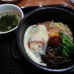 オモニのひと味 - 石焼きチーズビビンバ!(2013,11/9)
