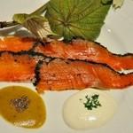 シェ・ジャニー - 料理写真:時鮭のグラヴラックス