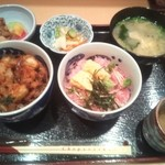 蔵 - 二種の小丼¥1000