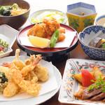 天ぷら ひさご - 宴会コース5000円コース〜冬の逸品・ふぐの唐揚げ〜