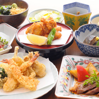 天ぷら・国産牛ステーキの豪華な宴会コース