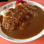 しのはら - 料理写真:カツカレー 800円。
