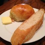 ヌーベルバーグKYOTO - ランチセットのパン