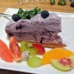 22433664 - ブルーベリーチーズケーキのタルト