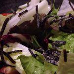 22433822 - 神出産白菜と塩昆布のしゃきしゃきサラダ