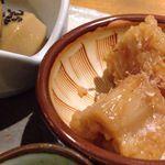 22433830 - 小鉢:里芋のにっころがし、蓮根の南蛮漬け