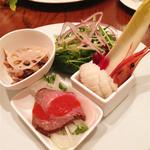 ヌーベルバーグKYOTO - ランチセットの前菜
