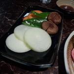 22434381 - セットの焼野菜1皿
