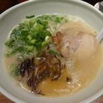 博多 一風堂 - 白丸元味:750円
