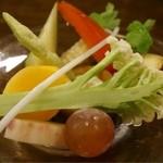 オレンチ - アミューズの野菜