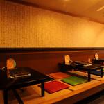 ペナムコル - 最大32人入れる店内。お座敷くつろぎながらお食事もできます