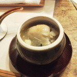 雅叙園 - 世界で一番美味しい牡蠣の茶わん蒸し・・贅沢です。