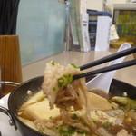 のんしゃらん食堂 - あつあつ肉豆腐