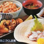 民宿 松鶴 - 料理写真:当店おすすめ!たこづくし定食