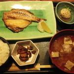 北の味紀行と地酒 北海道 - 2013.11 焼き魚定食