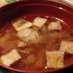 北の味紀行と地酒 北海道 - 2013.11 味噌汁は魚のアラ汁