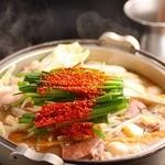 王道居酒屋 のりを - 料理写真:自慢のモツ鍋