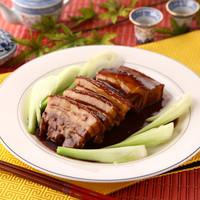 蘭 - 豚角煮のチンゲン菜添え 青菜扣肉