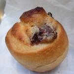 YOHO - 甘栗のデニッシュ ・・・ですが、普通のデニッシュとは違ってバターの入ったパンです