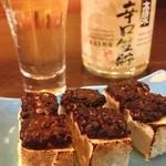 蕎麦一 - 蕎麦味噌豆腐で冷やを。鬼平犯科帳の世界を味わう。