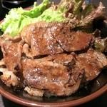 たどん - カルビ丼