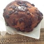 ブーランジェリー セイジアサクラ - 2013年10月:ショコラオランジュ(\218)…紙に包まれたうえでビニールに入っていました