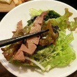 いろは弐 - 牛タン入りのチョレギ風サラダ