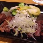 たんたん - 料理写真:厚切りネギ塩牛タン
