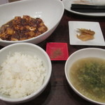 22447829 - 陳麻婆豆腐セット