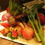 22447897 - 本日の厳選野菜