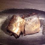 さんしん亭 - 秋刀魚角煮