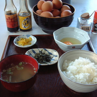 弁天の里 - 料理写真:たまごかけご飯(並)