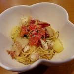 みんなのイタリアン - 真鯛とジャガイモのオイルパスタ