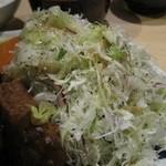 洋食屋 双平 - 大量の野菜に感謝!