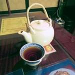 日光 翠園 - 濃厚な烏龍茶。