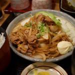 普通の食堂いわま - 生姜焼き定食